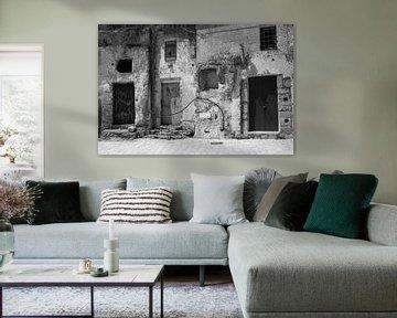 Höhlenhäuser Matera von Inge Hogenbijl
