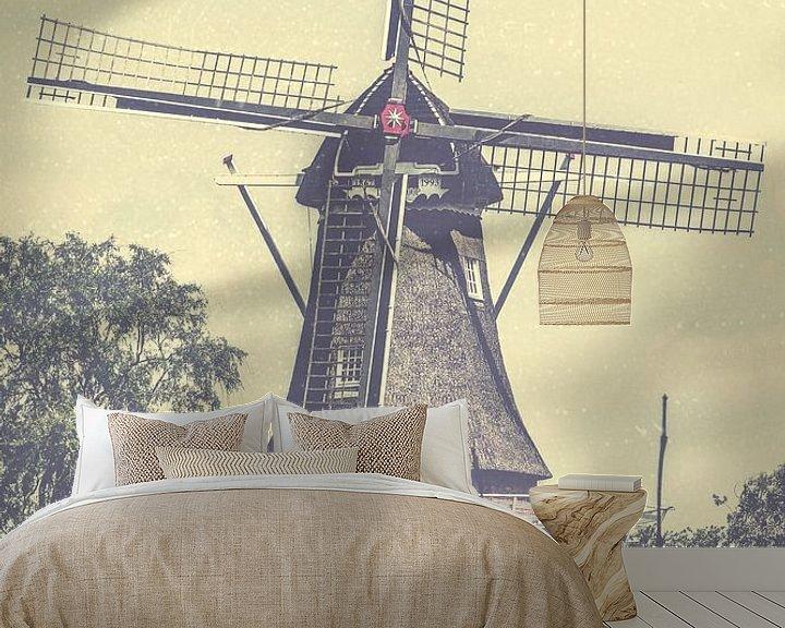 Sfeerimpressie behang: Molen de Hoop Sumar van Wolbert Erich