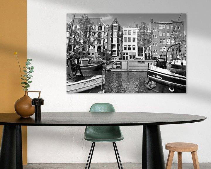 Sfeerimpressie: Bootnamen van Petra Amsterdam