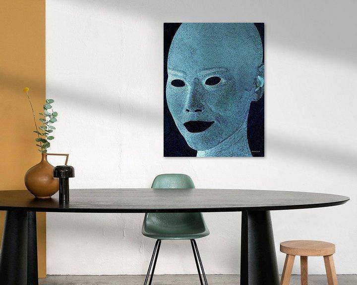 Sfeerimpressie: Blauw van Ton van Hummel (Alias HUVANTO)
