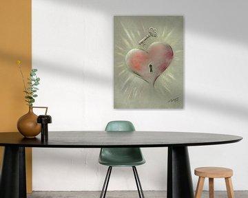 Mysterie van de hartmagneet van Marita Zacharias
