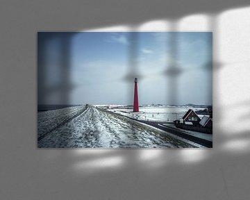Winter op de Zeedijk van Klaas Fidom