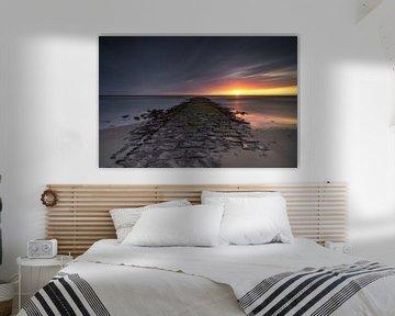 De Noordzee pier van Klaas Fidom