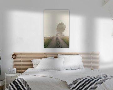 Mist in de morgen van Elianne van Turennout
