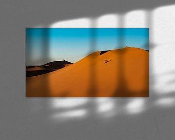 Op wintersport in de Sahara van Jesse Barendregt