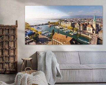 Zürich in der Schweiz von Werner Dieterich