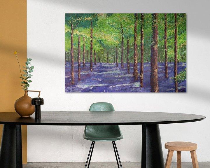 Sfeerimpressie: Kleurrijk bos van Marijke Doppenberg