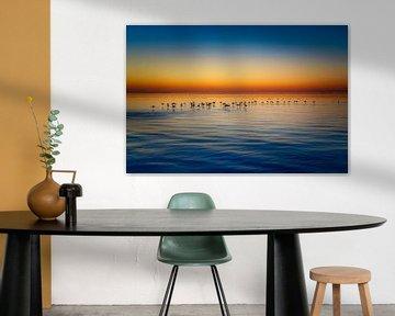 Silhouettes au coucher du soleil sur Joris Pannemans - Loris Photography