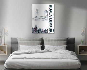 Kuala Lumpur von Printed Artings
