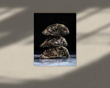 Drie Oesters van Anoeska Vermeij Fotografie