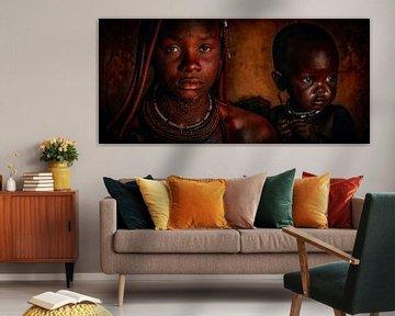 In de ogen van een Himba van Joris Pannemans - Loris Photography