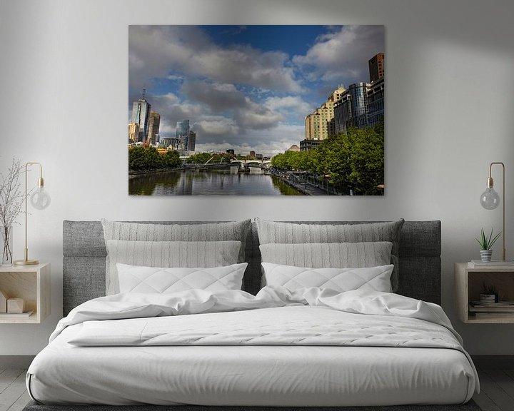 Sfeerimpressie: De stad Melbourne is de meest leefbare stad ter wereld. In de staat Victoria in Australië van Tjeerd Kruse