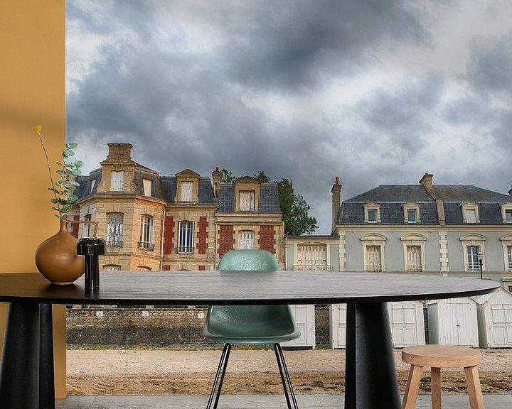 Beispiel fototapete: Strandhäuser in Frankreich von Mark Bolijn