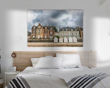 Strandhäuser in Frankreich