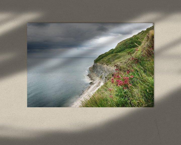 Beispiel: Die Küste der Normandie von Mark Bolijn
