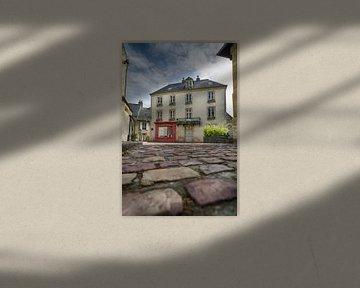 Straatbeeld van Bayeux