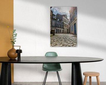 Verlaten straatje in Honfleur