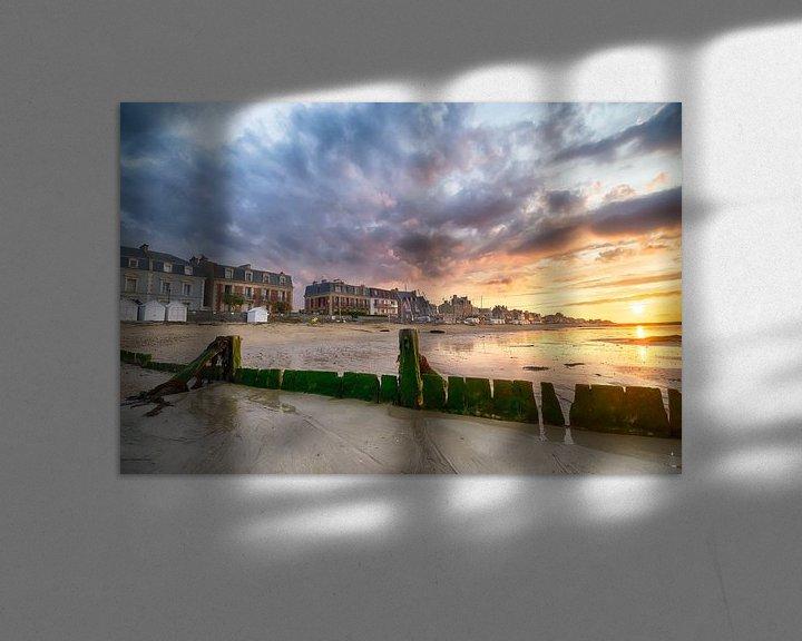 Beispiel: Sonne, Meer und Strand von Mark Bolijn
