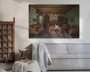 Wohnzimmer italienisches Bauernhaus von Perry Wiertz