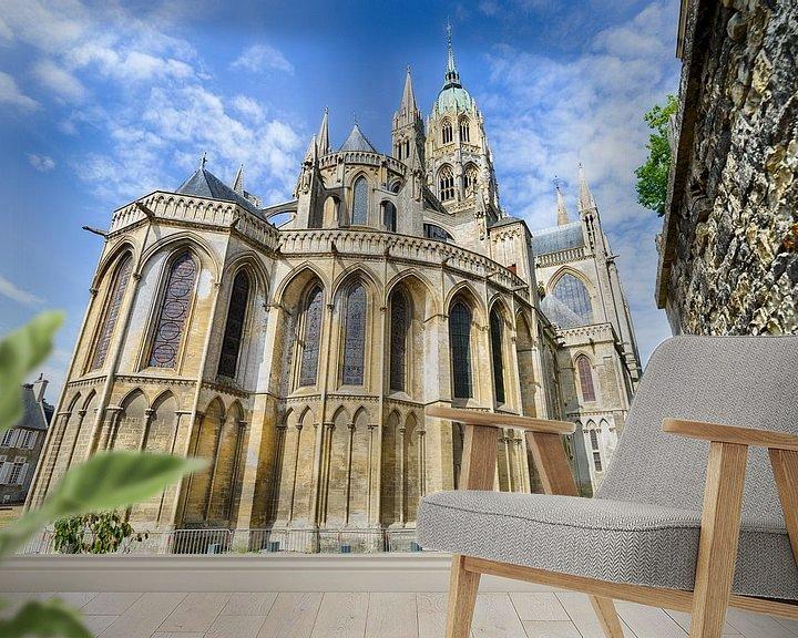 Beispiel fototapete: Notre-Dame von Bayeux von Mark Bolijn