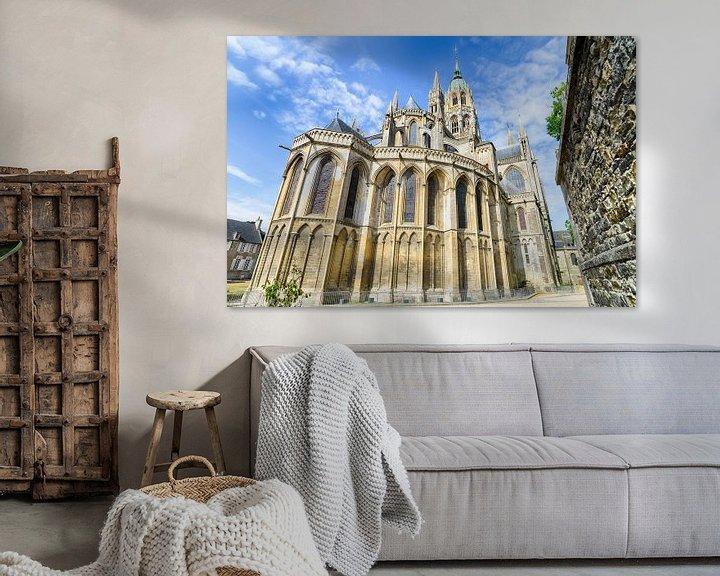 Beispiel: Notre-Dame von Bayeux von Mark Bolijn
