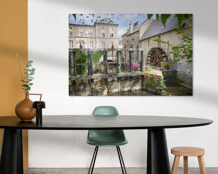 Sfeerimpressie: Watermolen in de stad van Mark Bolijn