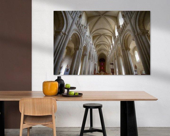 Sfeerimpressie: Abdijkerk in Caen van Mark Bolijn