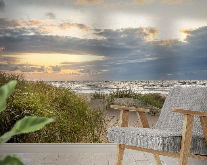 Beispiel fototapete: Dünen von Petten aan Zee (Nordsee) von Martijn van Dellen