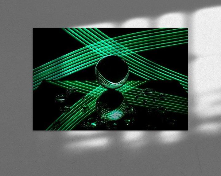 Sfeerimpressie: Schilderen met licht 7 van Erik Veltink