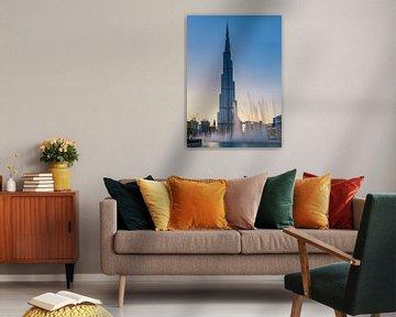 Burj Khalifa Fountain