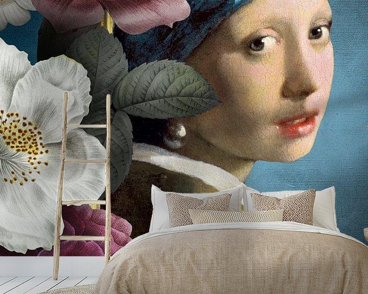 Beispiel fototapete: Of Pearls and Roses von Marja van den Hurk
