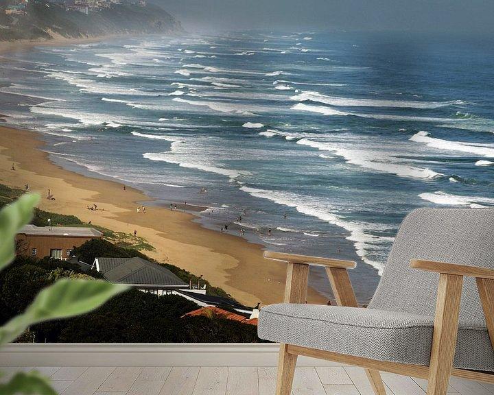 Sfeerimpressie behang: Golfen in  de  Indische Oceaan, ZuidAfrika van Paul Franke