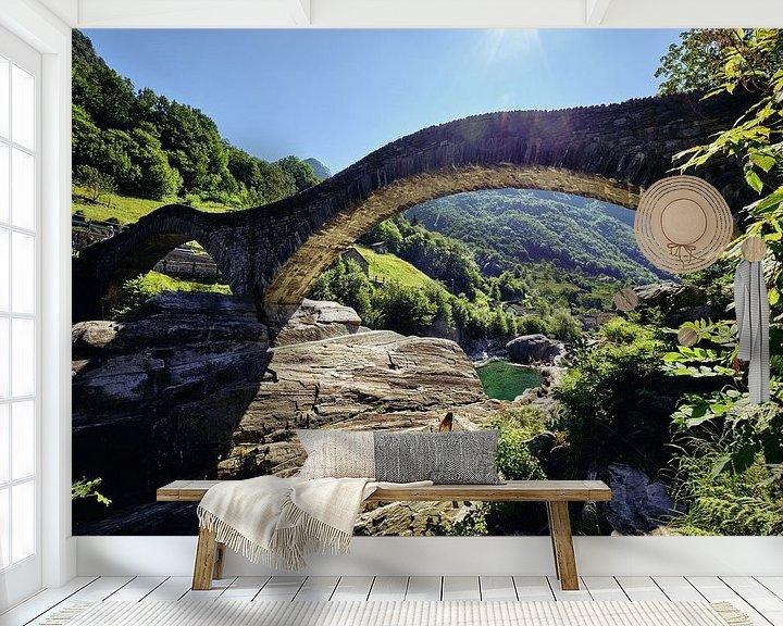 Sfeerimpressie behang: Het mooie Zwitserland van Arie Bon