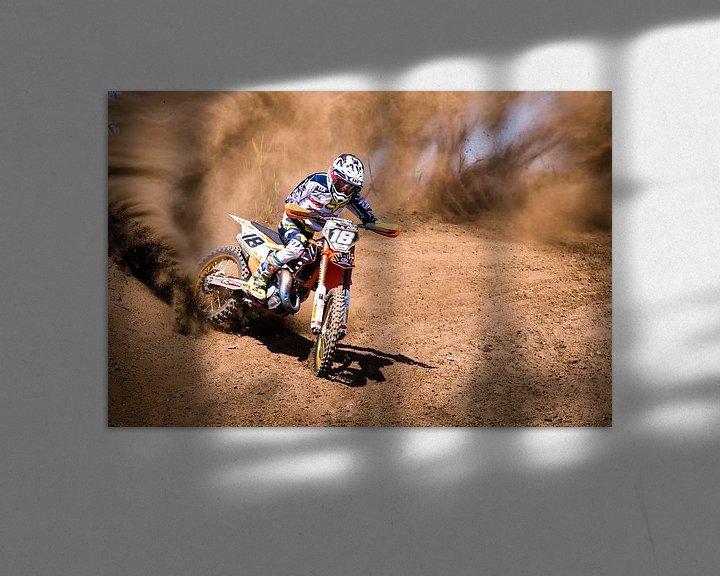 Sfeerimpressie: Motocross sports van Arie Bon