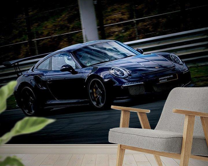 Sfeerimpressie behang: Dutch Porsche Drivers van Arie Bon