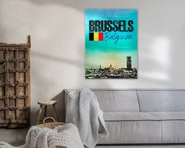 Brüssel von Printed Artings