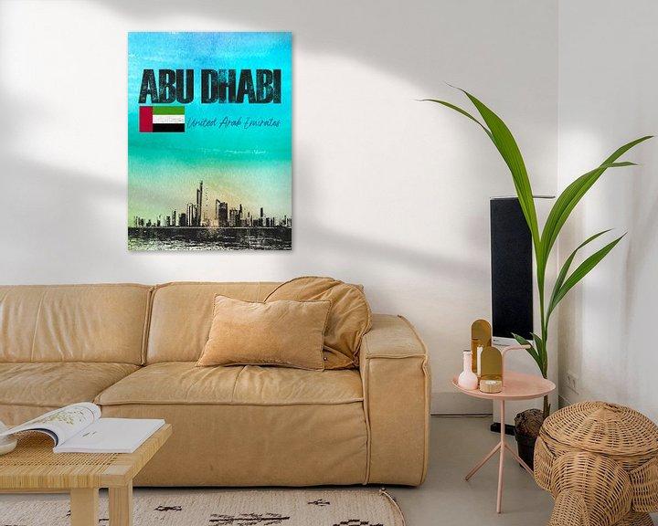 Sfeerimpressie: Abu Dhabi van Printed Artings