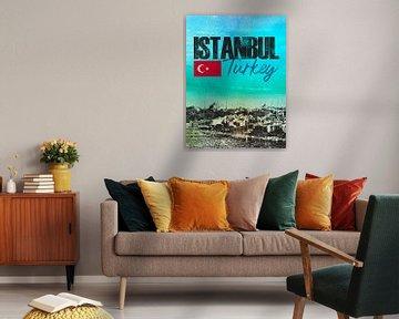 Istanbul Türkei von Printed Artings