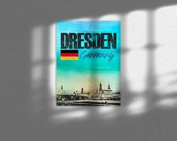 Dresden Deutschland von Printed Artings