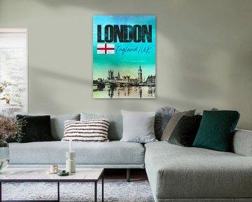 Londres Angleterre sur Printed Artings