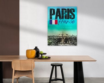 Paris Frankreich von Printed Artings