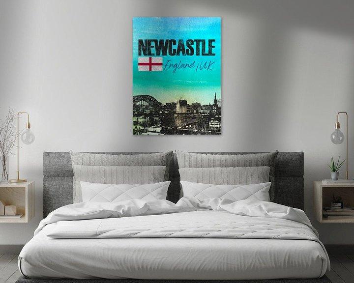 Sfeerimpressie: Newcastle Engeland van Printed Artings
