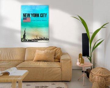 New York City Amerika von Printed Artings