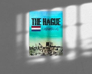 Den Haag Niederlande von Printed Artings