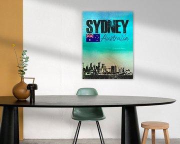 Sydney Australien von Printed Artings