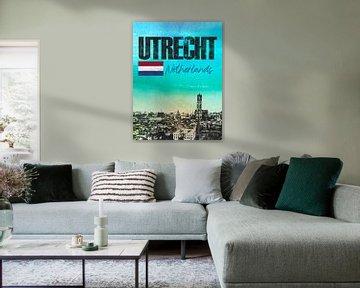 Utrecht Niederlande von Printed Artings
