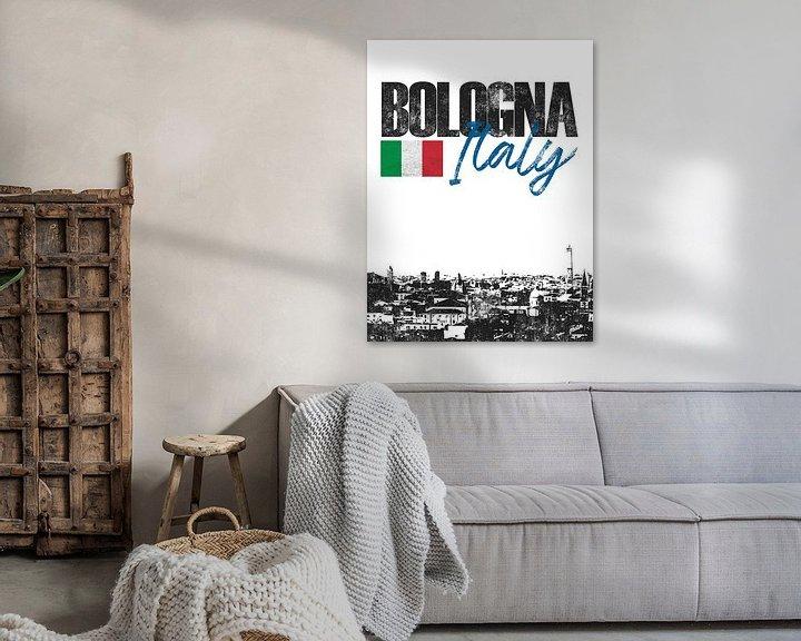 Sfeerimpressie: Bologna Italië van Printed Artings
