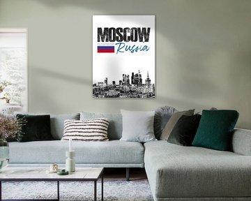 Moskau Russland von Printed Artings