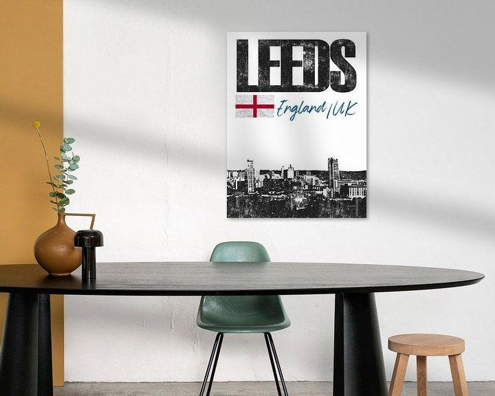 Sfeerimpressie: Leeds Engeland van Printed Artings