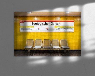 Bahnhof Zoologischer Garten van Evert Jan Luchies